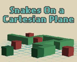 Play Snakes On A Cartesian Plane