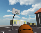 Play First person hoop shooter