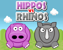 Play Hippos vs Rhinos