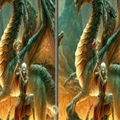 Play Spot the Differences-Dragons