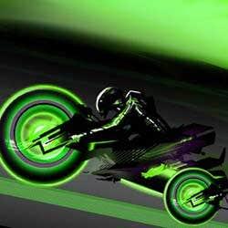 Play 3D Neon Race 2