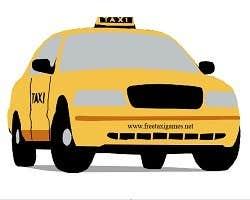Play Cartoon Taxi Jigsaw