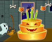 Play Halloween Cake Decor