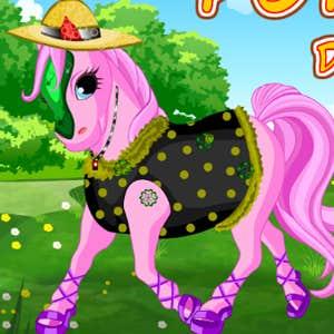 Play Happy pony dress up