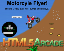 Play Motor Cyle Flyer