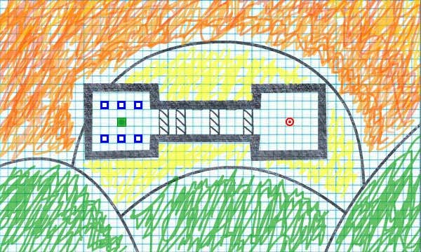 Play Green Square Thing