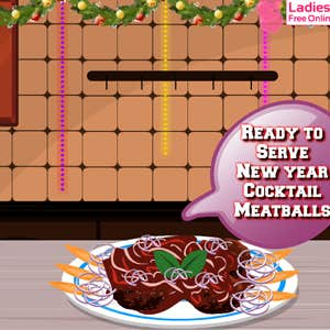 Play New Year Cocktail Meatballs
