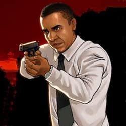 Play Obama Vs Zombies