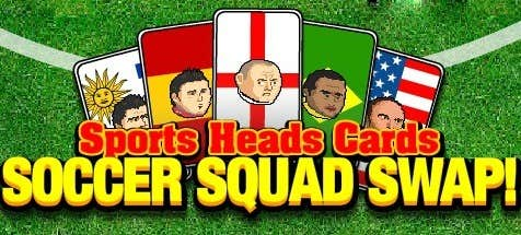 Play Sports Heads Cards: Squad Swap!