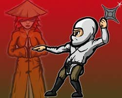 Play Ninja and Blind Girl 2