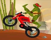Play Ninja Turtle Stunts