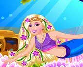 Play Barbie Mermaid Dressup
