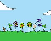 Play baker flowers