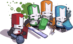 Play Castle Crashers