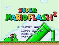 Play Super Mario Flash 2