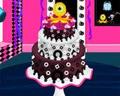 Play Halloween Monster Cake
