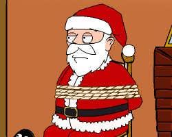 Play Tied Santa Escape