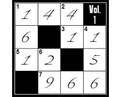 Play Crossnumbers - vol 1