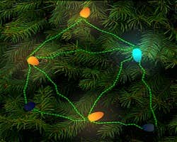 Play Christmas Lights-On