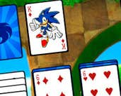 Play Sonic Solitaire Game