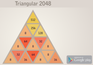 Play Triangular 2048
