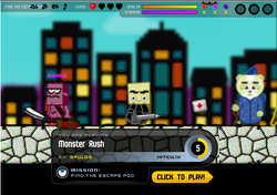 Play Monster Rush