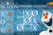 Play Olaf Frozen Tic Tac Toe