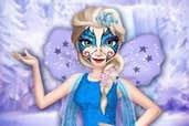 Play Elsa Face Tattoo