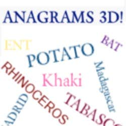 Play Anagrams 3D!
