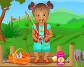 Play Baby Daisy Camping