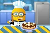 Play Minion Cooking Banana Cake