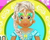 Play Baby Daisy Face Painting