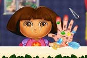 Play  Dora Hand Doctor