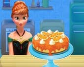 Play Anna Cooking Cheese Cake