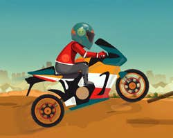 Play Bike Racing HD