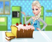Play Elsa Cooking Pound Cake