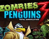 Play Zombies vs Penguins 3