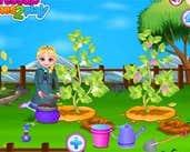 Play Frozen Elsas Garden