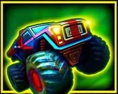 Play Monsters' Wheels 2