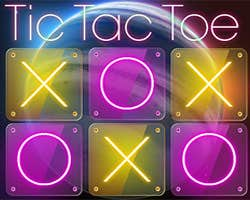 Play Tic Tac Toe - Space