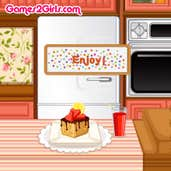 Play Cooking Frenzy: Walnut Banana Bread Pudding