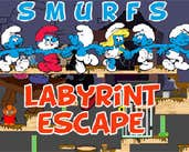 Play Smurfs Labyrinth Escape