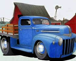 Play Truck Cartoon Jigsaw