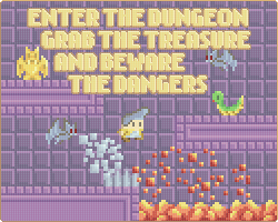 Play Enter the Dungeon; Grab the Treasure and Beware the Dangers