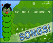 Play HangWorm: Songs!