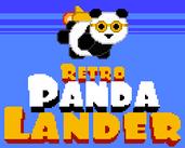 Play Retro Panda Lander