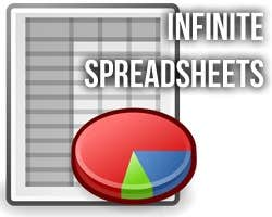 Play Infinite Spreadsheets