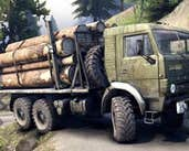 Play Logging Truck Jigsaw