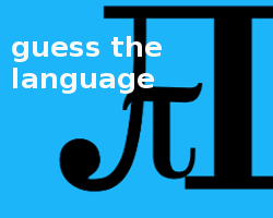 Play Guess The Language
