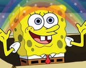 Play Rainbow SpongeBob Jigsaw